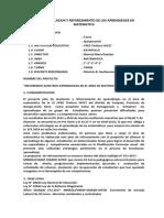 368969618 Plan de Nivelacion y Reforzamiento de Los Aprendizajes en Matematica Docx