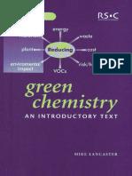Green-Chemistry Part 1