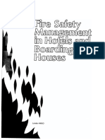 Fire Safety Management in Hotels