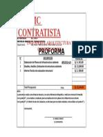 PROFORMA SMC CONTRATISTA