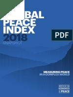 Measuring Peace 2018