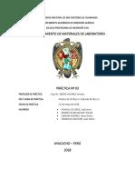 Laboratorio Quimica n 03 Informe