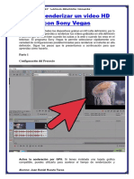 Cómo Renderizar Un Video HD Con Sony Vegas