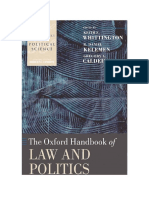 [Oxford Handbooks of Political Science] Keith E. Whittington, R. Daniel Kelemen, Gregory A. Caldeira - The Oxford Handbook of Law and Politics (2008, Oxford University Press, USA).pdf