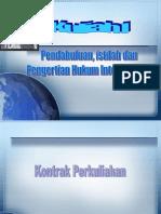 Materi H. Internasional