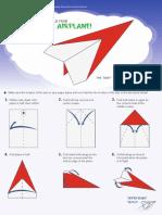 NASM Paper Plane Printout b1p3i5