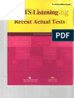 Updated-IELTS Listening Recent Actual Tests