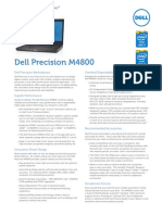 Dell Precision M4800 Parametry