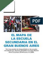 EL MAPA DE LA ESCUELA SECUNDARIA EN EL GRAN BUENOS AIRES