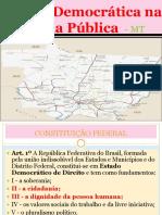 Gestão Democrática Na Escola Pública de Mato Grosso
