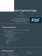 Intracranial Haemorrhage