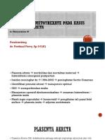 PPT Methotrexate dalam Kasus Plasenta Akreta