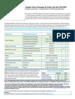 Cpa Ryerson Course List