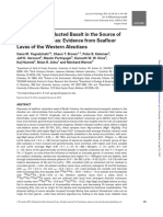 Eclogite-The Role of Subducted Basalt in the Sour