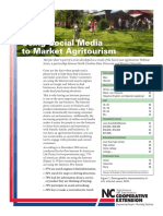 Using Social Media to Market Agritourism