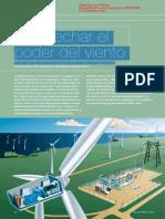 A Prove Char El Poder Del Viento - HVDC Light Para La Integracion Eolica Marina a Gran Escala (Estudiado 2010)