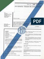 NBR 12023 - 1990 - Solo Cimento - Ensaio de Compactação