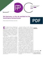 La Ley de Paridad en Los Municipios Bonaerenses - El Teclado