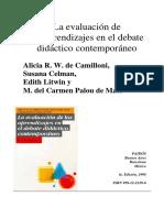 CELMAN Susana, Es posible mejorar la evaluacion y transformarla en herramienta de conocimiento.pdf