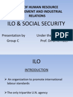 ILO and Social Security (GROUP B)