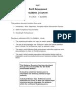 RoHS Enforcement Guidance Document [Final Draft]-Jnhlee