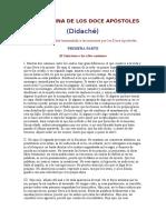 Evangelios apócrifos - La doctrina de los doce Apóstoles.doc