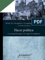Di Meglio; Fradkin - Hacer Política. La Participación Política en El Siglo XIX Rioplatense