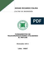 Aplicando MATLAB en telecomunicaciones