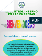 Clase 5 Control Interno_mètodos Evaluación