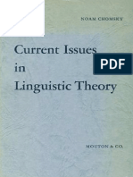 Noam Chomsky-Current Issues in Linguistic Theory-Mouton (1964)