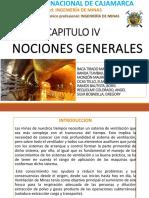 Cap IV NOCIONES-GENERALES-De La Ventilacion de Minas
