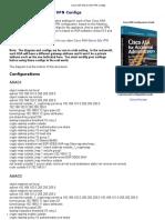 Cisco ASA Site-To-Site VPN Configs