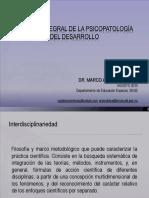 Psicopatologia del desarrollo y farmacologia