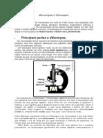 Microscópios e Telescópios