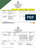 Supervisory Plan June
