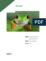 Practico de Biologia Anfibios