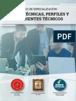 Curso de Especialización Fichas Técnicas Perfiles y Expedientes Técnicos
