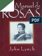 Lynch - Juan Manuel de Rosas