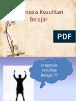 7spertemuan 15 Diagnosa Kesulitan Belajar