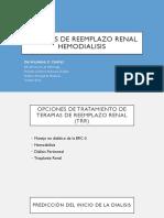Terapias de Reemplazo Renal
