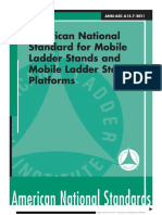 (ANSI-ASC A14.7-2011 -) Coll.-mobile Ladder Stands and Mobile Ladder Stand Platforms-American National Standards Institute (2011)