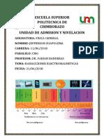 quimica radiaciones