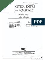 Hans Morgenthau - Política entre naciones (hasta el cap 8) .pdf
