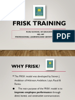 frisk training