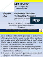 The Teaching Professionj