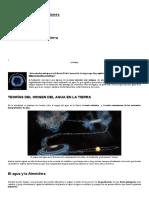 Origen Del Agua en La Tierra _ Biblioteca de Investigaciones