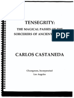 16. Tensegrity of Ancient Mexico by Carlos Castaneda