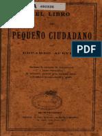 El libro del pequeño ciudadano, 1907, Eduardo Acevedo (Catecismo)