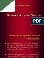 el contrato de Agencia Comercial