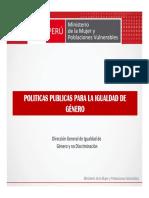 Politicas Publicas Para La Igualdad de Genero-mimpff